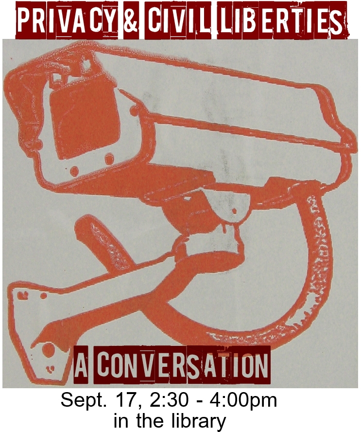 privacy & civil liberties poster